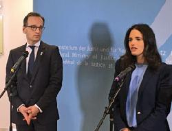 Justizministerin Shaked besucht Deutschland