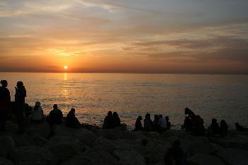 Sonnenuntergang in Tel Aviv [Video]