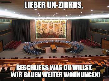 UNRWA - das große Affentheater