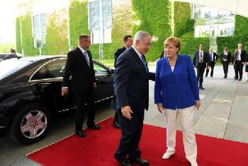 `Nur mit Euch´: Deutscher Nationalfeiertag in Israels Hauptstadt