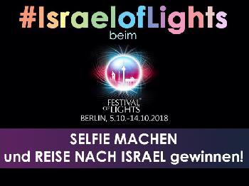 #IsraelofLights beim Festival of Lights in Berlin