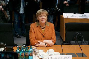 Merkel: Deutschland muss bei der Künstlichen Intelligenz vorne mit dabei sein
