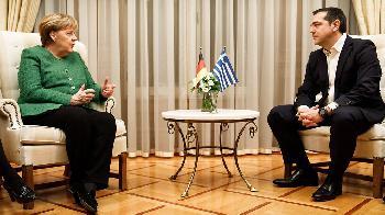 Statement von Merkel zum Abschluss der Griechenland-Reise