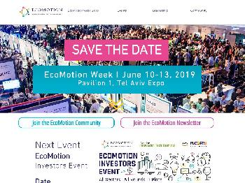 Save the Date - EcoMotion Week 2019