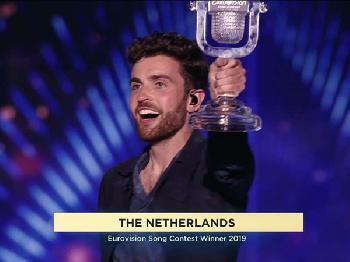 Finale des Eurovision Song Contest in Tel Aviv