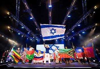 Viele Christen beim Jerusalem-Marsch