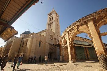 Jerusalems Erlöserkirche `steht nicht in Israel.´