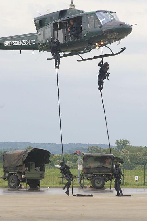 Nordrhein-Westfalen in Alarmbereitschaft aus Furcht vor mordenden Barbaren