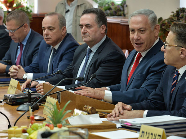 Premier Netanyahu bei Kabinett-Sitzung zum Iran