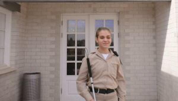 Die Geschichte einer blinden Offizierin [Video]