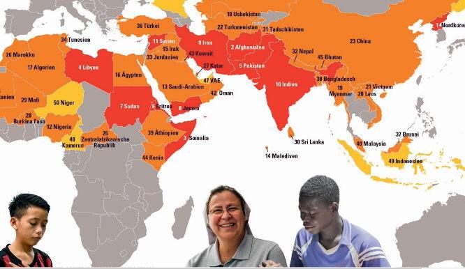 Zahl der extrem verfolgten Christen auf 260 Millionen angestiegen