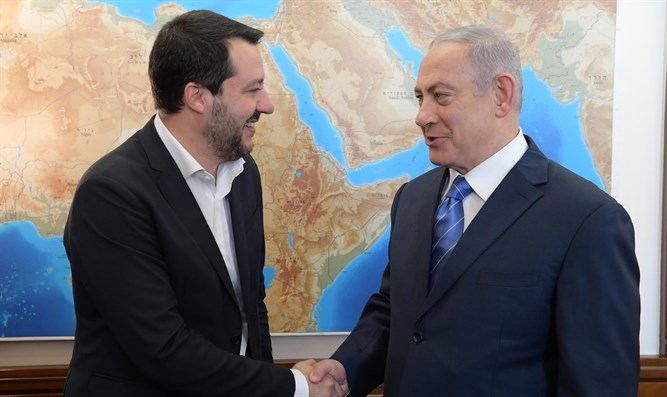 `Italien wird Jerusalem als Israels Hauptstadt anerkennen.´