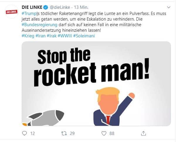 DIE LINKE und der Iran