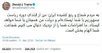 Der beliebteste persischsprachige Tweet der Geschichte