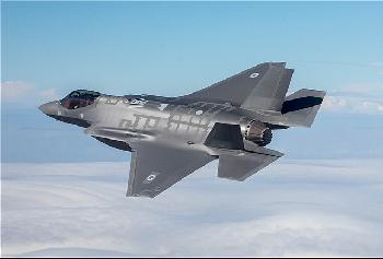 Weiterer F35i-Kampfjet im Einsatz [Video]