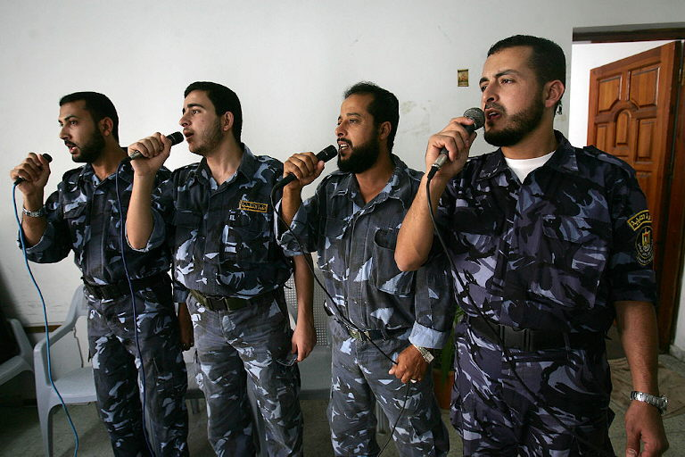 Palästinenser: Gefahren beim Singen