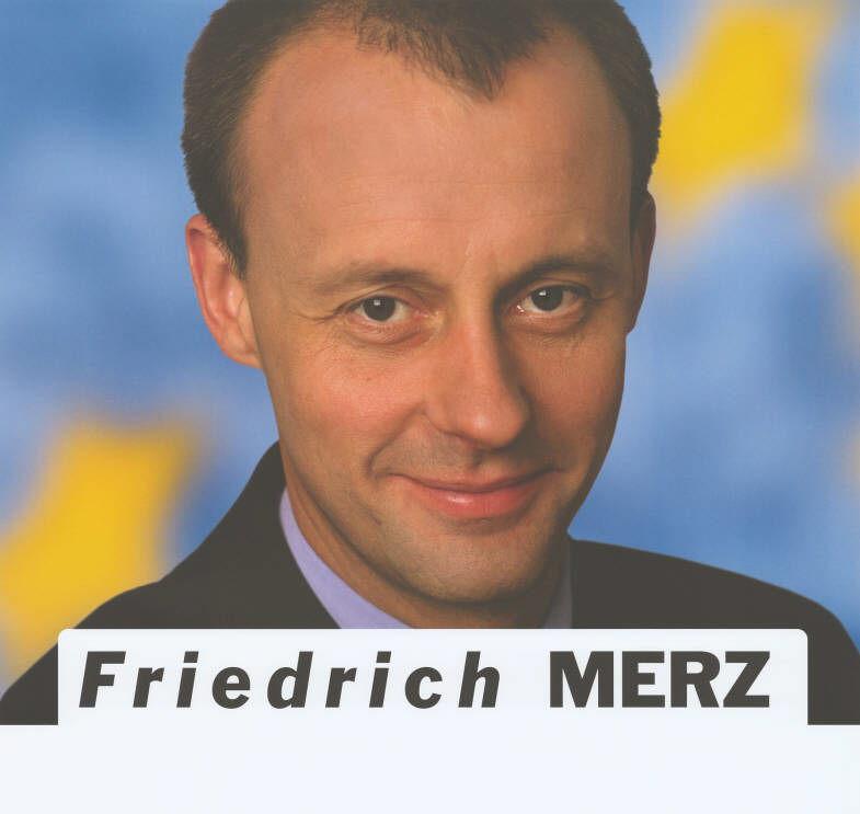 Ballhaus Berlin: Vortrag von Friedrich Merz zu dem Thema `Was nunh Deutschland?´