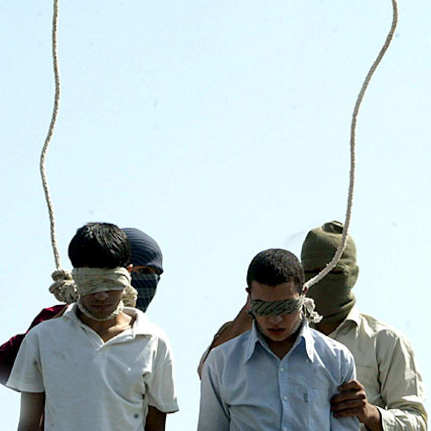 Irans Regime mordet und foltert, Österreich schickt Glückwünsche