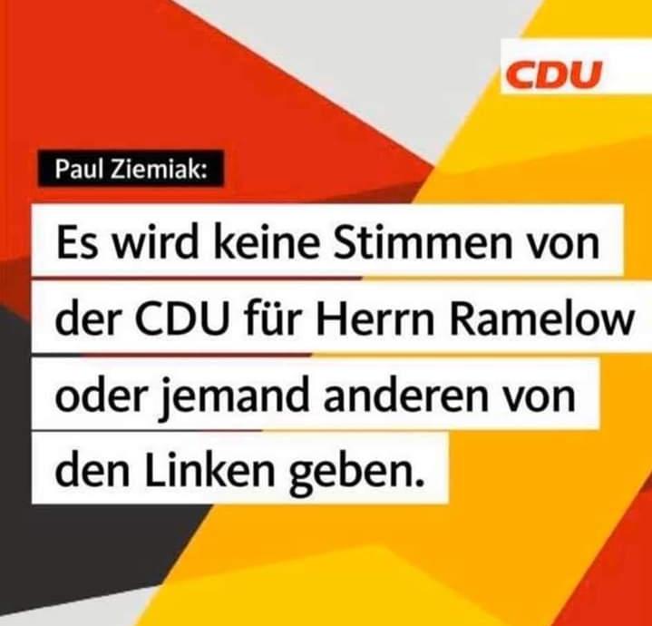 Die neuen politischen Gefährten der CDU