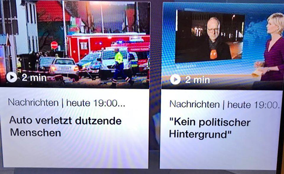 Hanau und Volkmarsen - der doppelte Standard unserer Politik und ihrer Medien