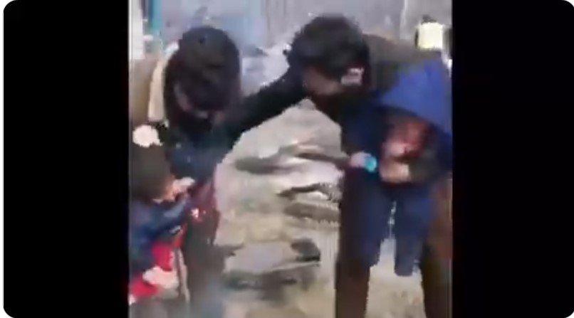 Was passiert mit den Kindern auf den Videoaufnahmen?