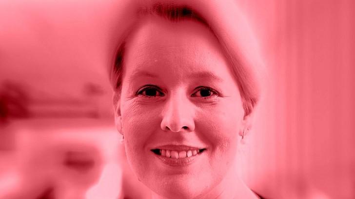 Franziska Giffey als Ministerin für Volksbildung