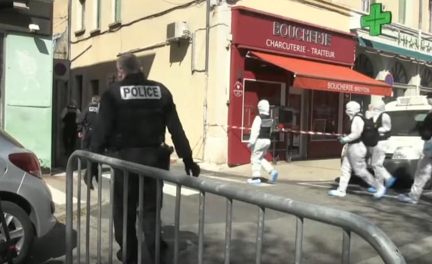 Terroranschlag in Frankreich: Zwei Tote, zahlreiche Verletzte