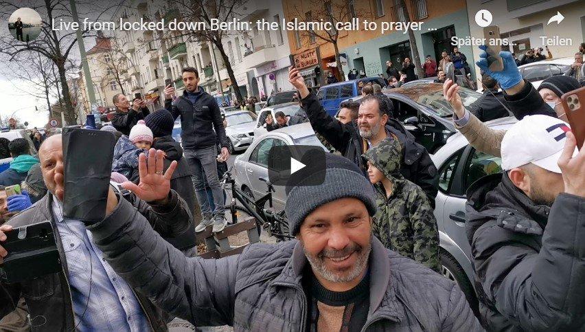 """""""Allahu Akbar"""" trotz Corona: Video aus Berlin Neukölln nun wieder online"""