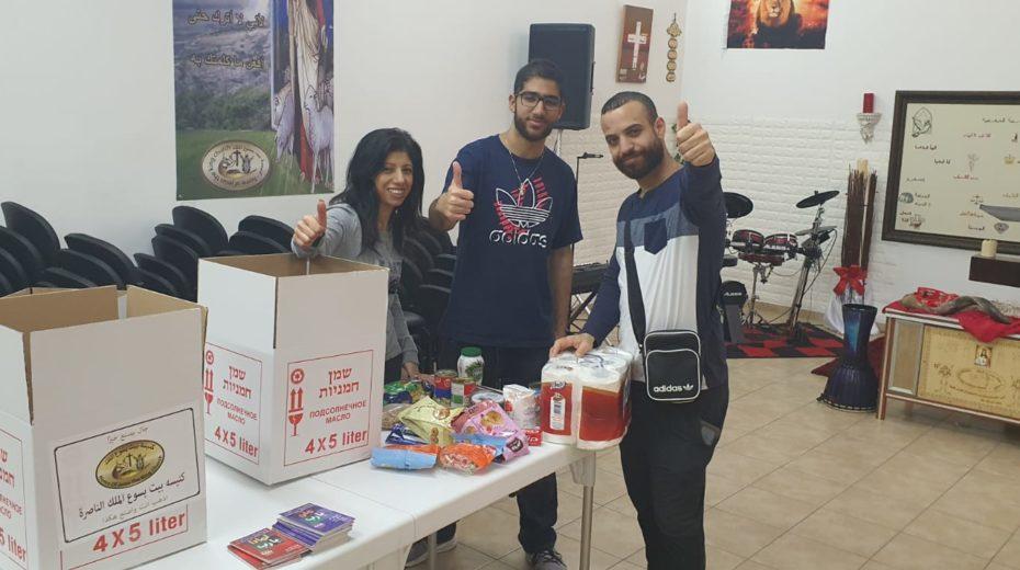 Arabischer Christ hilft Juden in der Corona-Krise Pesach zu feiern