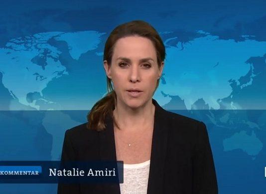 """ARD/Iran-U-Boot Natalie Amiri nennt Ungarn """"undemokratisch"""" [Video]"""