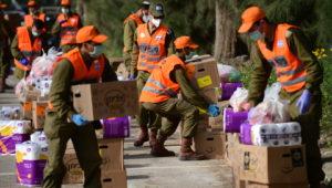 Israelische Armee versorgt Senioren [Video]