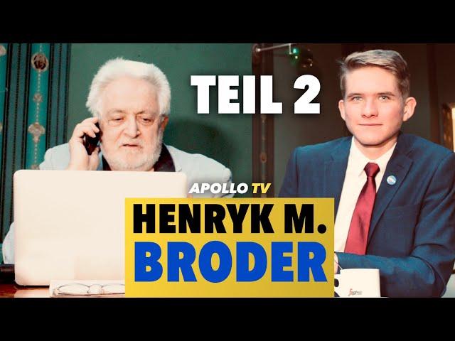 """""""Ihre Generation ist bescheuert!"""" - Henryk M. Broder im Gespräch (2) [Video]"""