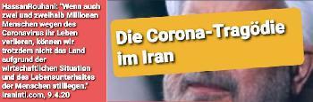 Die Corona-Krise im Gottesstaat: Ein Regime geht über Leichen