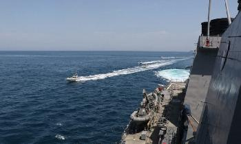 Chronologie der Provokationen durch Iran auf See