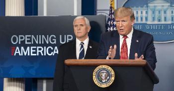 Präsident Trump läutet die nächste Phase im Kampf gegen das Coronavirus ein