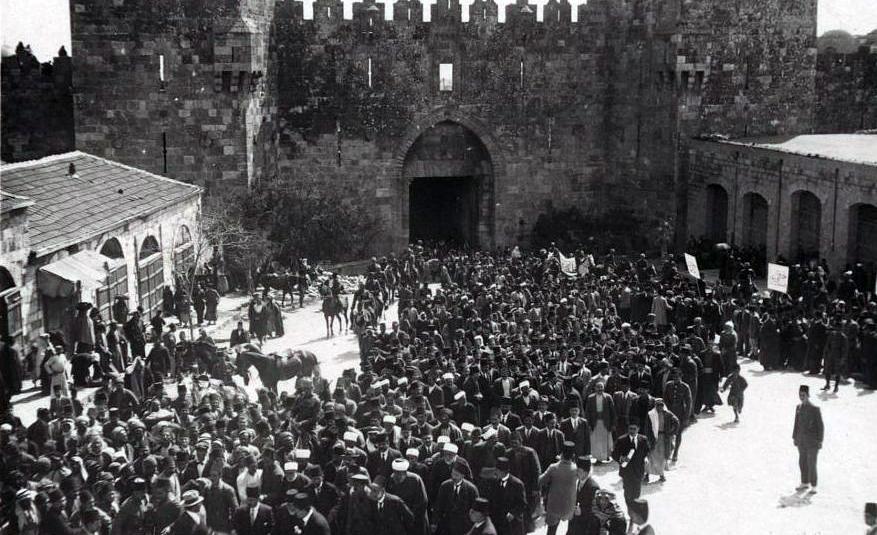 Die hundert Jahre alten Lektionen aus einem Pogrom in Jerusalem