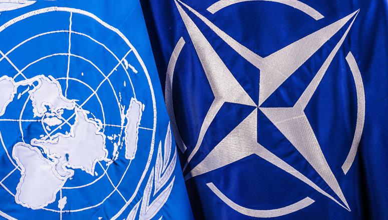 NATO als Untergebene der UNO?