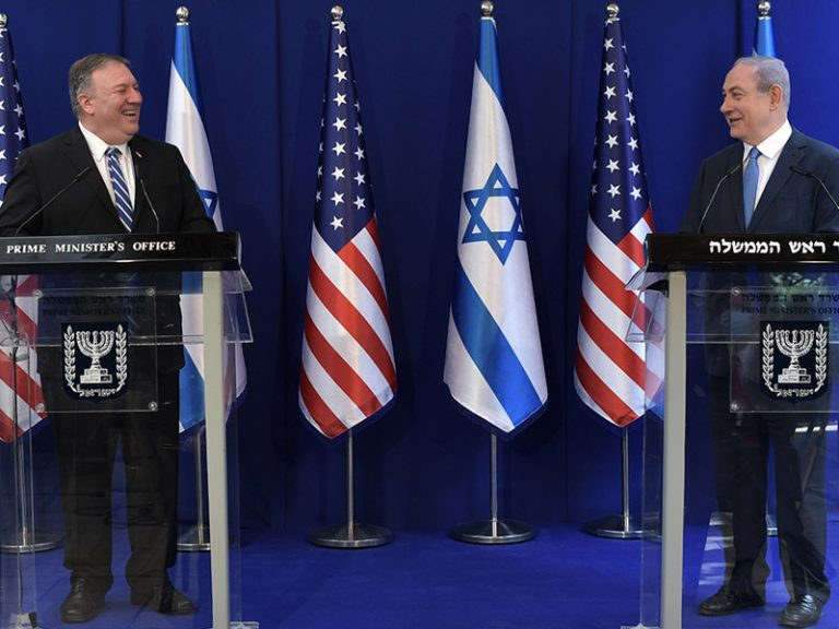 Premierminister Netanyahu trifft US-Außenminister Mike Pompeo