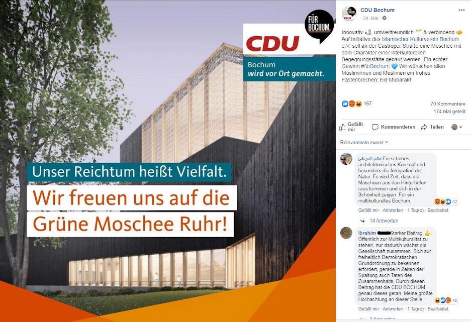 CDU-Grüße an die Muslimbrüder?