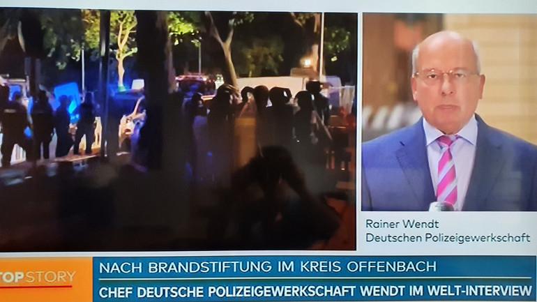 DPolG: Gezielte Attacken auf Polizeibeamte verurteilt