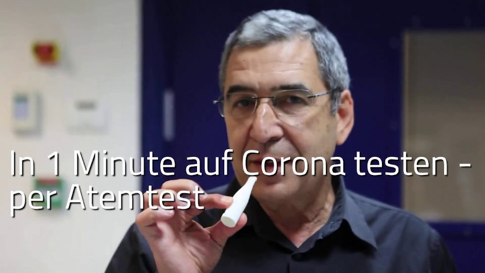 In 1 Minute auf Corona testen [Video]