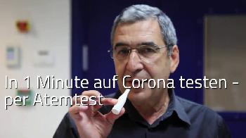 In 1 Minute auf Corona testen [Video]