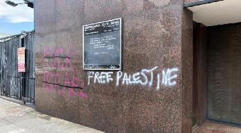 """""""Antifa-Demonstranten"""" schändeten Synagoge in Los Angeles"""