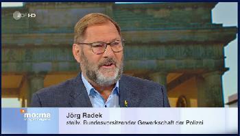 GdP-Vize im ZDF zu Berliner Landesantidiskriminierungsgesetz