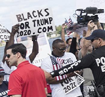 Zustimmung für Trump unter Afroamerikanern erreicht neuen Höchststand