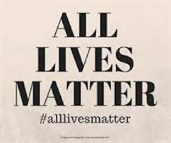 Black And White Lives Matter