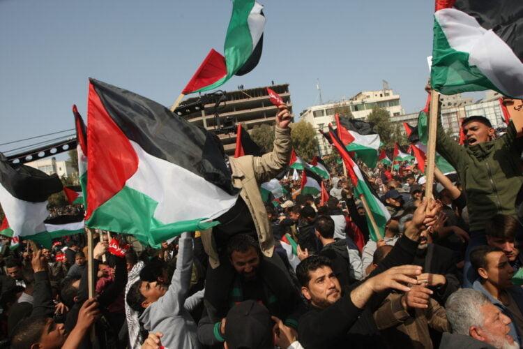 """Palästinenser beklagen einseitige Annexion als Leugnung des historischen Rechts der Palästinenser """"Nein"""" zu sagen"""