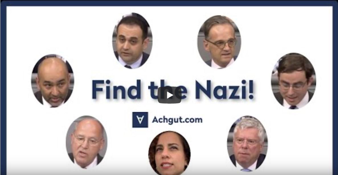 Find The Nazi! [Video]