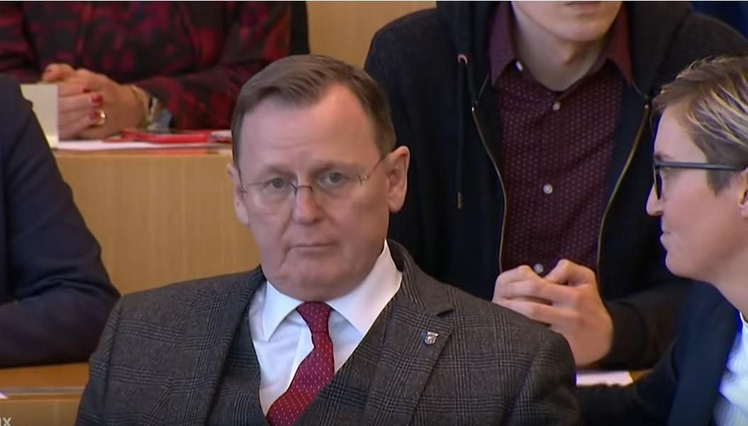 """""""Widerlicher Drecksack!"""": Ramelow flippt aus und zeigt Abgeordnetem Mittelfinger"""