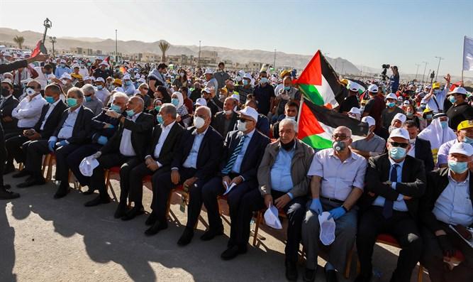 """Die PLO fordert zur Teilnahme am """"Widerstand der Bevölkerung"""" auf."""